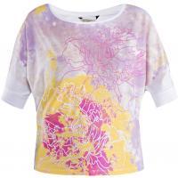 Monnari Krótki t-shirt z wielobarwnym nadrukiem TSH2330