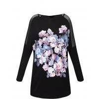 Monnari T-shirt z nadrukiem w kwiaty TSH2400