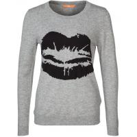 BOSS Orange WIDELINA Sweter szary BO121I02D-C11
