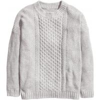 H&M H&M+ Wzorzysty sweter 56203-A