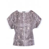 Monnari T-shirt z motywem wężowej skóry JUM1060