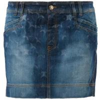 Just Cavalli Spódnica jeansowa niebieski JU621B000-K11