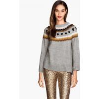 H&M Żakardowy sweter 58931-C