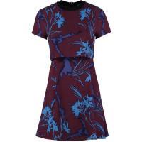 Topshop CROCUS Sukienka letnia burgundy TP721C02A-G11