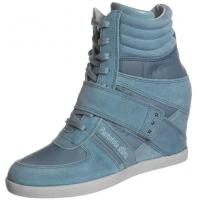 Pantofola d`Oro BELLA Botki na koturnie niebieski PA411A00P-501