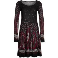 Anna Field Sukienka dzianinowa czarny AN621C04I-Q00