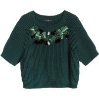 H&M Sweter z koralikami 76824-A