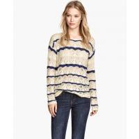 H&M Wzorzysty sweter 42191-A