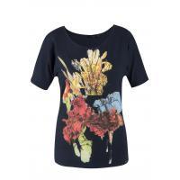 Monnari T-shirt z wiosennym nadrukiem TSH0490