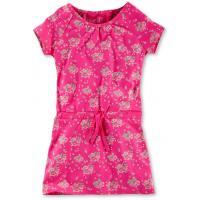 Tchibo Sukienka z dżerseju, różowa z nadrukiem w kwiaty 400071802