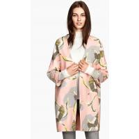 H&M Short coat 0225334002 Powder pink/Pattern
