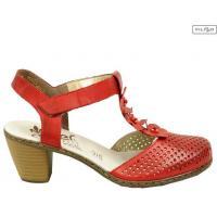 Sandały RIEKER 40996-33 RED 8017803