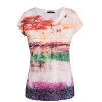 Monnari T-shirt z barwnymi pasami TSH2290