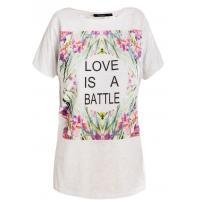 Monnari T-shirt z botanicznym motywem TSH3080