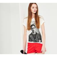 Reserved T-shirt YFL z nadrukiem FRIDA KAHLO KZ139-01X