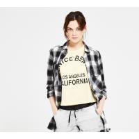 Reserved T-shirt YFL z nadrukiem LH617-10X