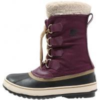 Sorel WINTER CARNIVAL Śniegowce purple dahlia/black SO611C003-I11