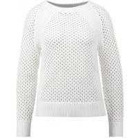 MICHAEL Michael Kors Sweter white MK121I018-A11