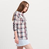 Reserved Koszula w kratę YFL PC029-59X