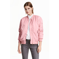 H&M Kurtka bomberka 0427951016 Różowy