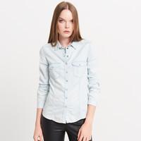 Reserved Jeansowa koszula PU771-05J