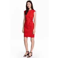 H&M Krótka sukienka 0439850004 Czerwony
