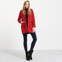 Reserved Czerwony płaszcz MM835-33X