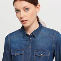 Reserved Jeansowa koszula PL330-59J