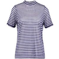 Vila VISTROW T-shirt z nadrukiem total eclipse V1021D0D2-K11