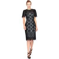 Allure Sukienka z koronki ANGITTA czarna