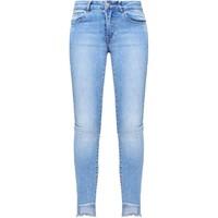 Vila VICOMMIT Jeansy Slim fit light blue denim V1021S013-K11