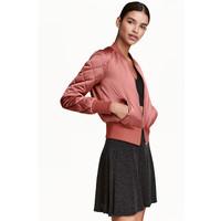 H&M Kloszowa spódnica 0356289020 Czarny/Brokatowy
