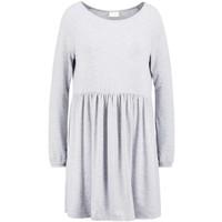 Vila VIKITTA Sukienka z dżerseju light grey melange V1021C0OY-C11