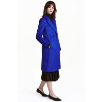 H&M Dwurzędowy płaszcz 0428396001 Chabrowy