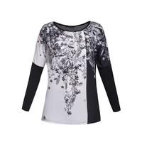 Monnari T-shirt z kwiatowym motywem TSHIMP0-15J-TSH4420-KM20D004-R0S