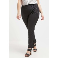 Zizzi Spodnie materiałowe black Z1721A00R