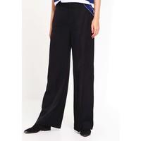 Whyred Spodnie materiałowe black WH121A00Y
