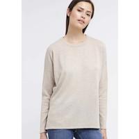 Zalando Essentials Sweter beige melange ZA821IA0D