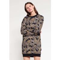 Just Cavalli Sukienka z dżerseju khaki JU621C05U
