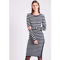 Sisley Sukienka dzianinowa white 7SI21C05W