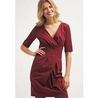 Sisley Sukienka etui red 7SI21C05R