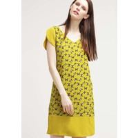 Sisley Sukienka letnia yellow 7SI21C05C