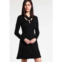 Versace Jeans Sukienka z dżerseju black 1VJ21C02R