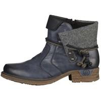 Rieker Ankle boot ocean/black RI111N05I