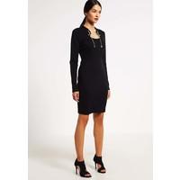 Versace Jeans Sukienka z dżerseju nero 1VJ21C02E