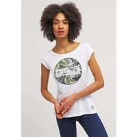 Rip Curl GRACIANO T-shirt z nadrukiem optical whtie RI721D02X