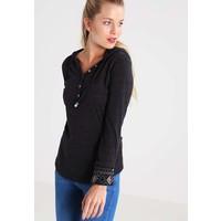 Ragwear DROP Bluzka z długim rękawem black melange R5921D023