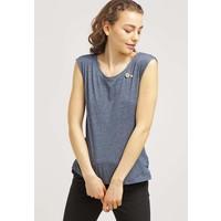 Ragwear SOFIA T-shirt z nadrukiem petrol melange R5921D01U