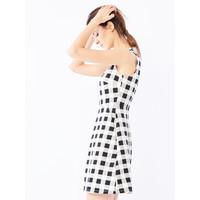 Mohito Sukienka w krratę QM499-00X