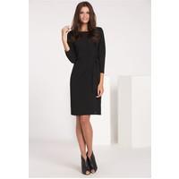 Monnari Wieczorowa sukienka z wiązaniem SUKIMP0-16J-DRE2140-K020D000-R36